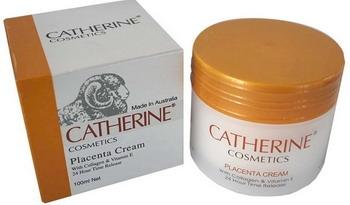 Catherine Cosmetics Placenta Cream 100ml. With Collagen & Vitamin E