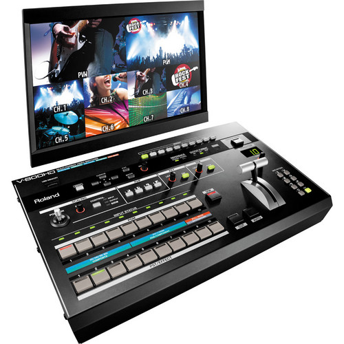 Roland V-800HD Multi-Format Video Switcher ตัวท็อป