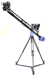 PROAIM 4ft. Studio Jib with Tripod Stand and Floor Spreader (P-4-TS)