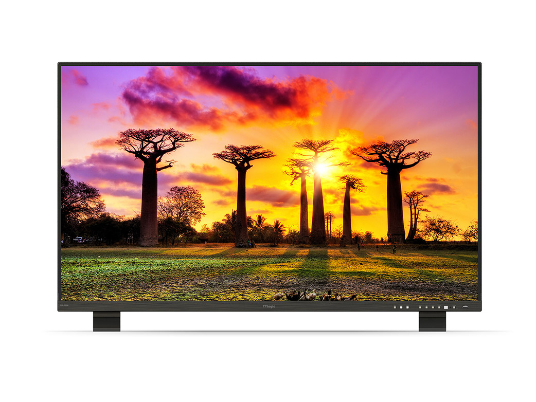 "TV Logic LUM-550M : 55"" UHD 12G-SDI Monitor"