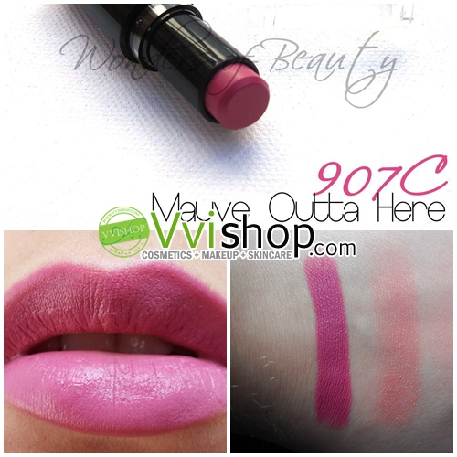 Wet n Wild Mega Last Lip Color 3.3 g # 907C Mauve Outta Here ลิป สีชมพูอมม่วงนิดๆ