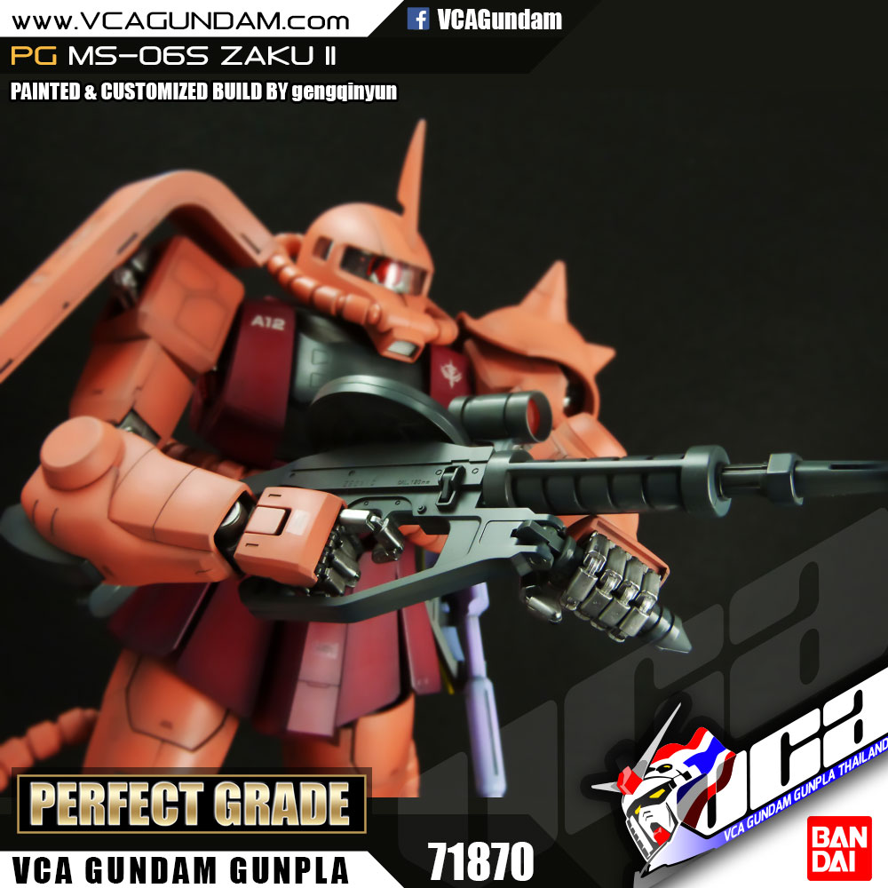 PG MS-06S CHAR ZAKU II ซาคุ 2