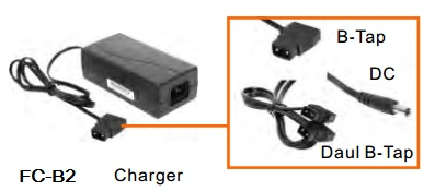 Batteries, Chargers, On-Camera Light Accessries, Cases & Bags FC-B2