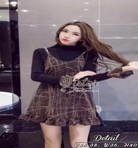 เสื้อผ้าแฟชั่นเกาหลีเสื้อกระโปรง