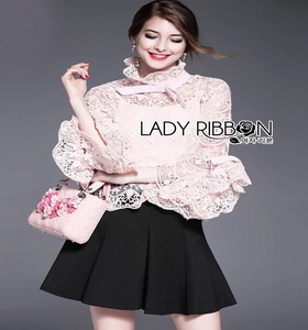Lady bella Modern Vintage Lace Blouse