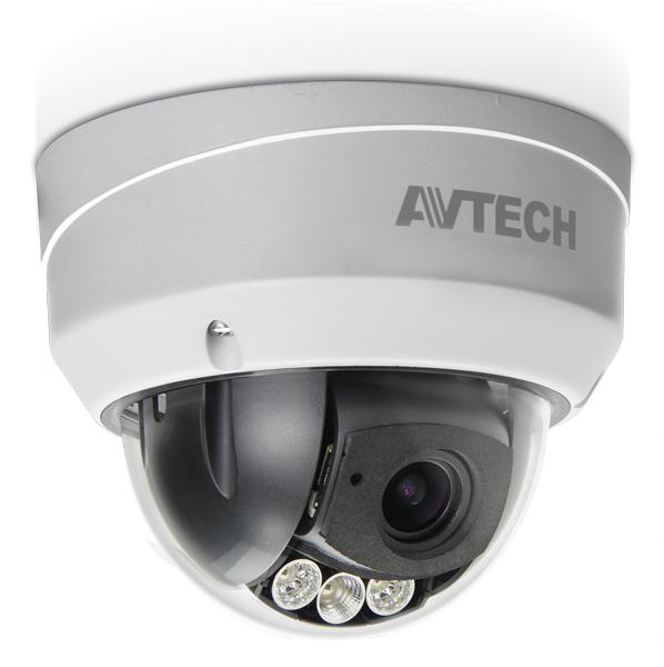 กล้อง HD-TVI 1080P ทรงโดม Motorized Vari-Focal Lens 2.8-12mm. AVTECH รุ่น AVT543