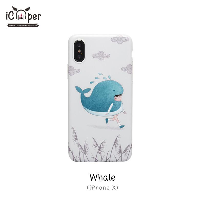 MAOXIN Japan Series Case - Whale (iPhoneX)