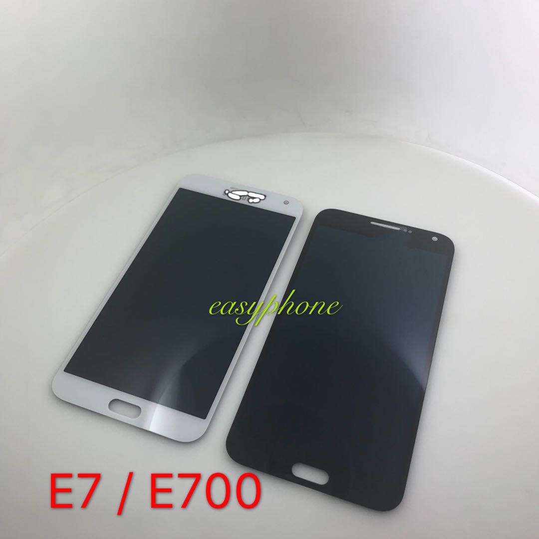 LCD Samsung Galaxy E7 / E700 จอชุด แท้ // มีนำดำ,ขาว