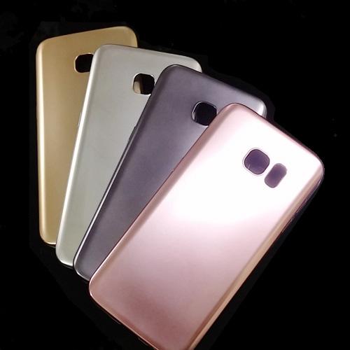 เคสยาง สีเมทัลลิก (ด้าน - Matt ) เคส Samsung Galaxy S7 Edge