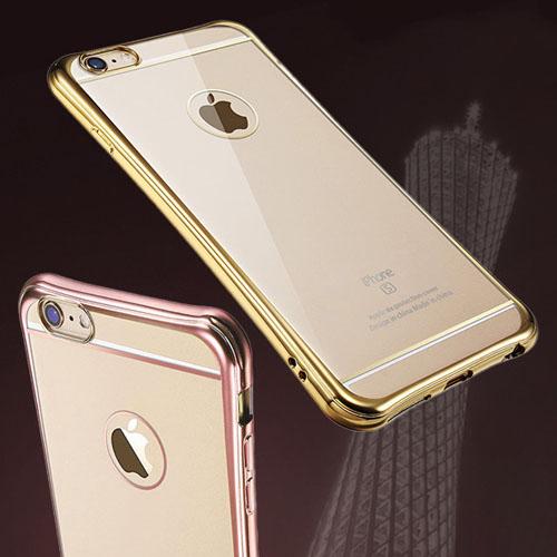 เคสใส ขอบสี มุมหนากันกระแทก - iPhone 6 / 6S