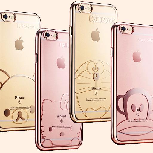 คิตตี้ โดเรม่อน สติช พอลแฟรงค์ รีลัคคุม่ะ - เคส iPhone6 / 6S