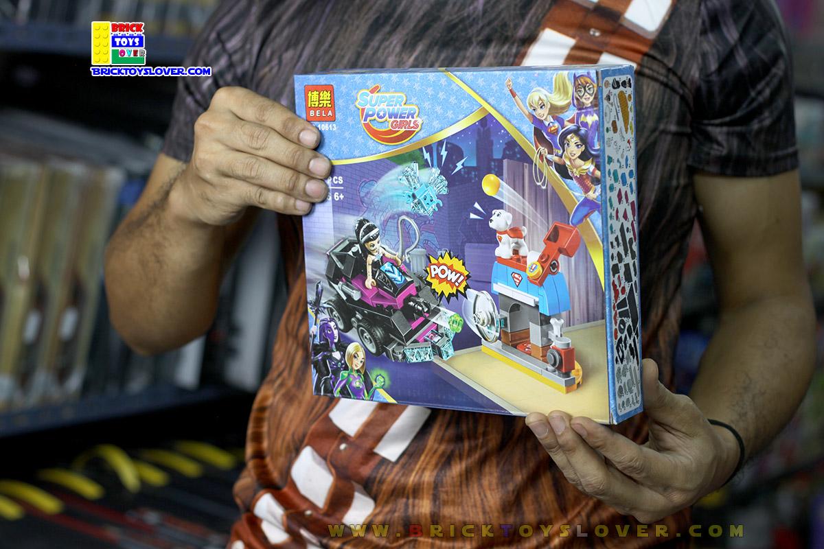 10613 Super Hero Girls ตัวต่อ Lashina Tank ยานเกราะของฮีโร่สาวลาชชิน่า