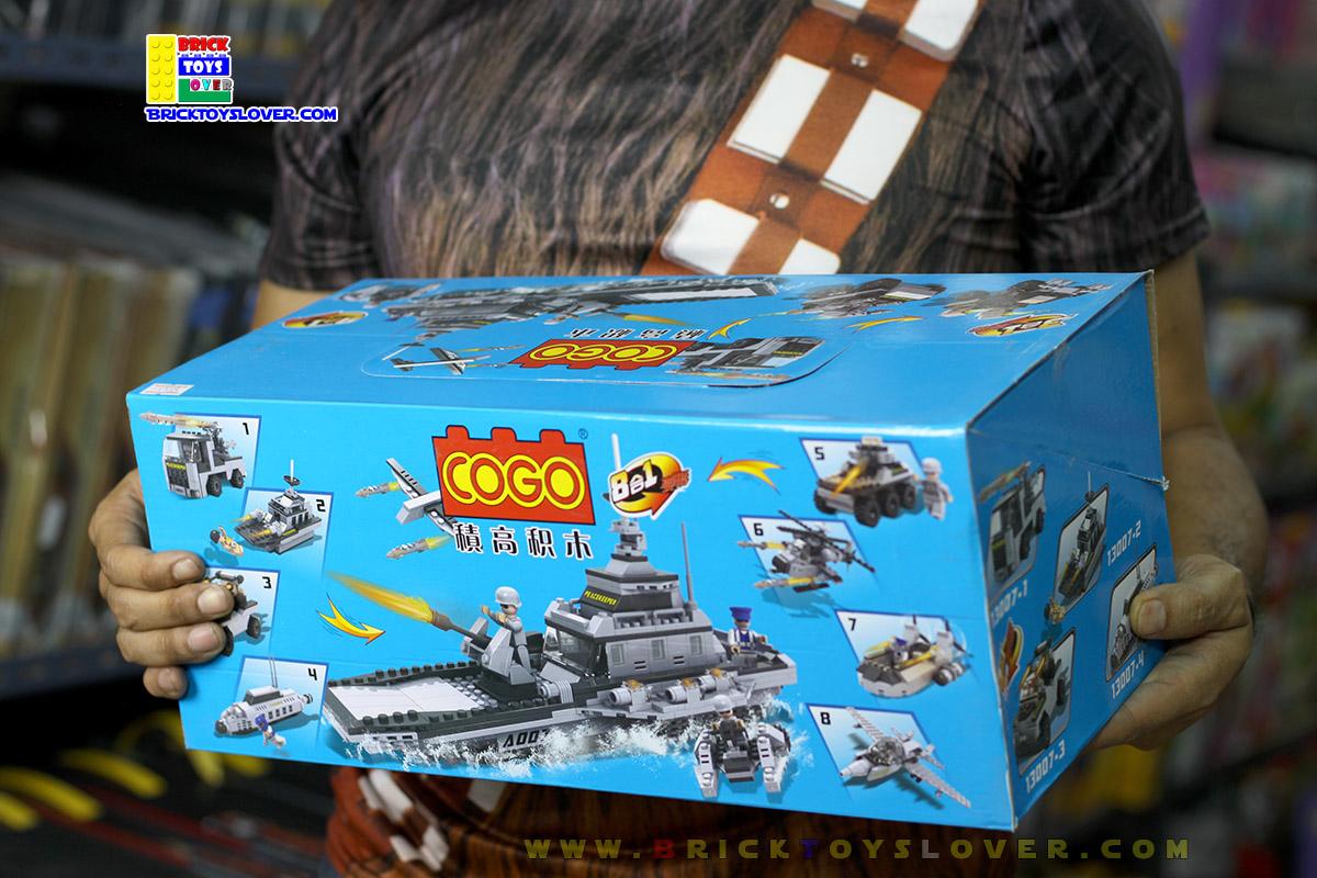 13007 ตัวต่อทหารแบบ Boxset หน่วยรบ PeaceKeeper 8 กล่องพร้อมมินิฟิกเกอร์