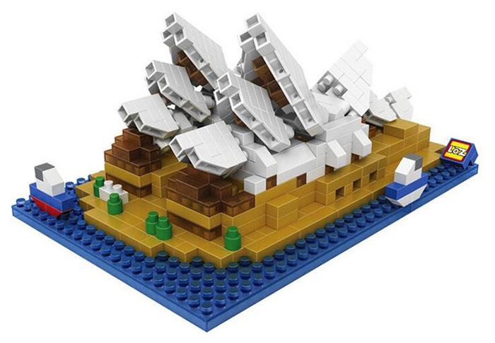 มินิบล็อก LOZ เลโก้จีน 9379 ราคาถูก Sidney Opera House ISO