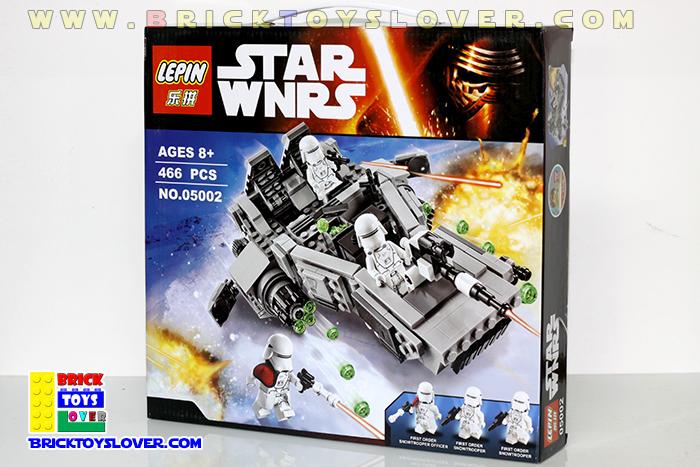 เลโก้จีน Lepin 05002 มินิฟิกเกอร์ First Order Snow Speeder ราคาถูก กล่อง