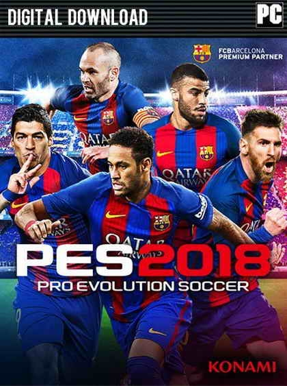 Pro Evolution Soccer 2018 (6DVD)