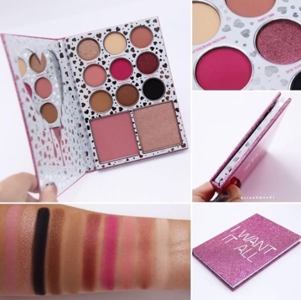 (พร้อมส่ง) Kylie The Birthday Book A Face Palette