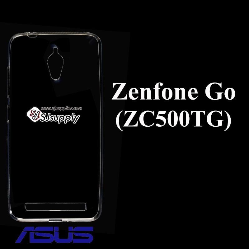 เคส Zenfone G0 5.0 (ZC500TG) ซิลิโคน สีใส