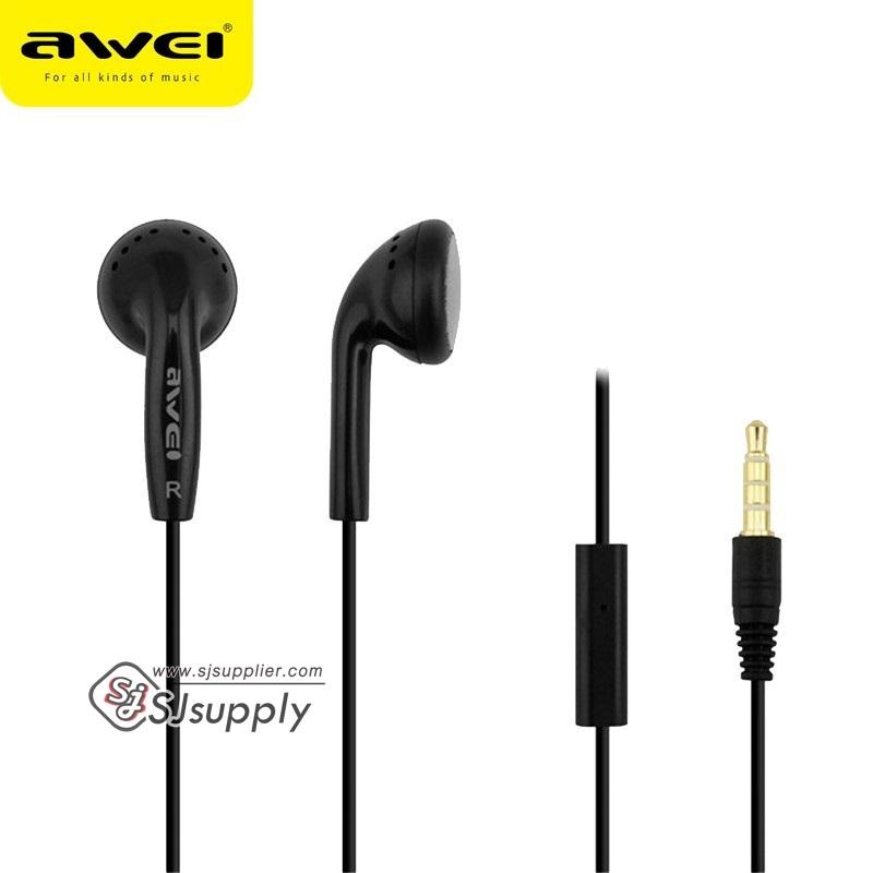 หูฟัง Awei Small Talk ES11i สีดำ