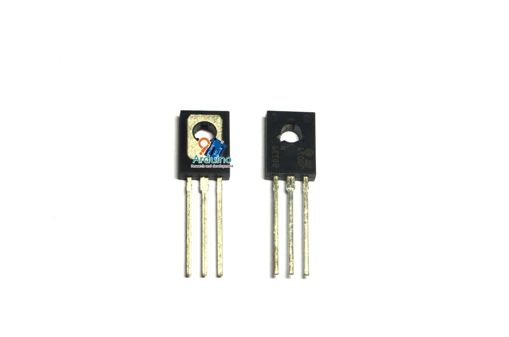 Transistor ทรานซิสเตอร์ BD139 ชนิด NPN