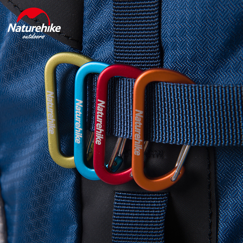 mini D-Shaped Multi-functional Carabiners