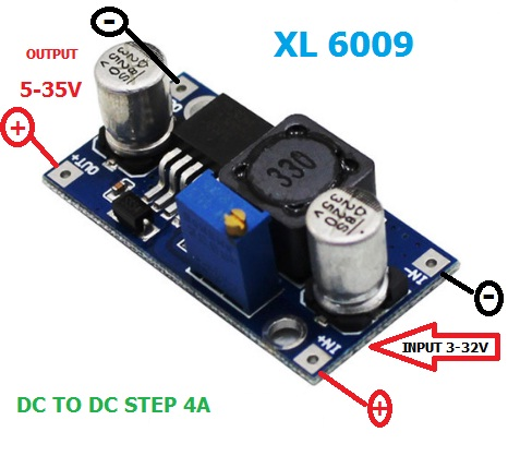 XL6009 DC to DC Step Up 5-35V