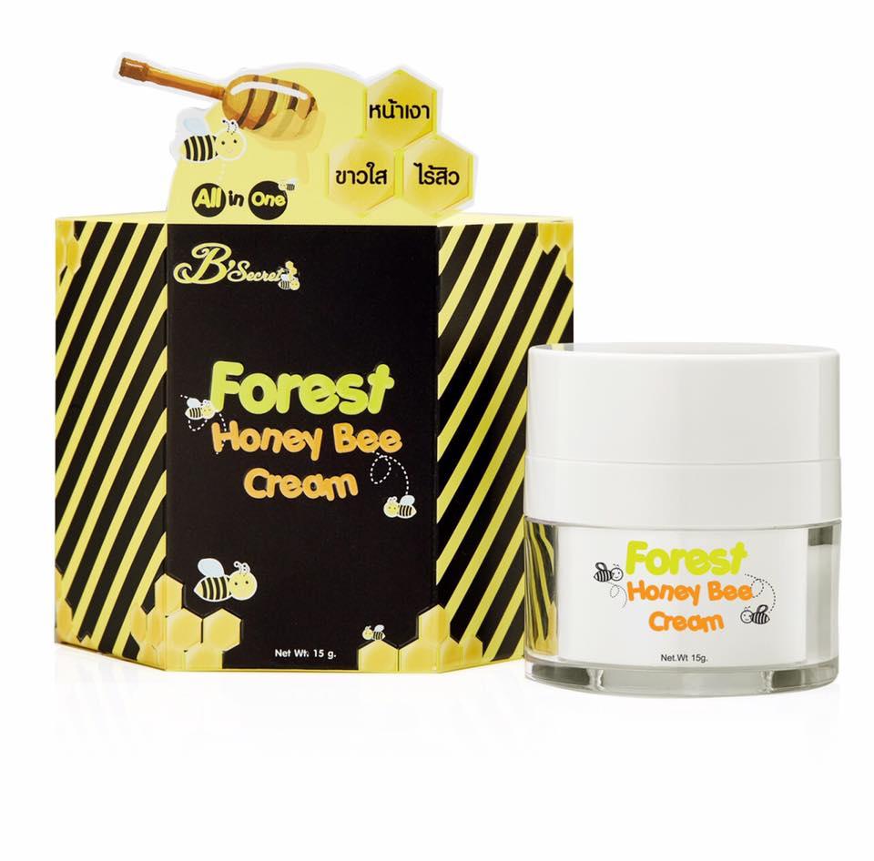 ครีมน้ำผึ้งป่า B'secret ฟอเรสท์ ฮันนี่ บี ครีม