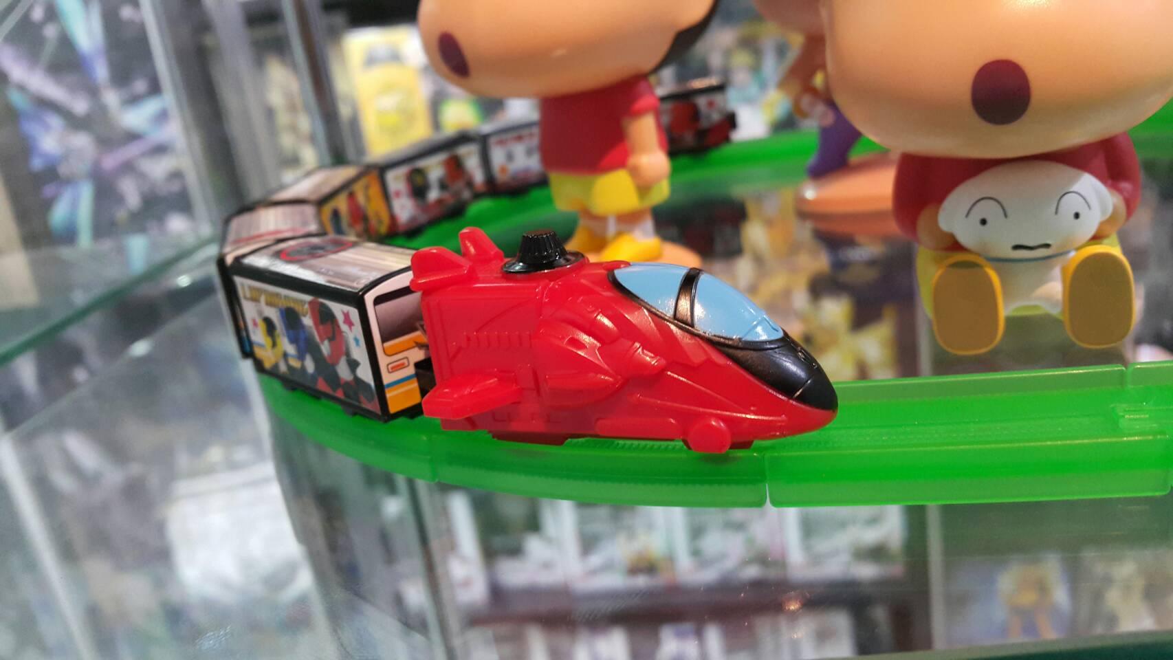 2467940หัวขบวนสีแดง lupinranger VS patranger rail 9ลูก