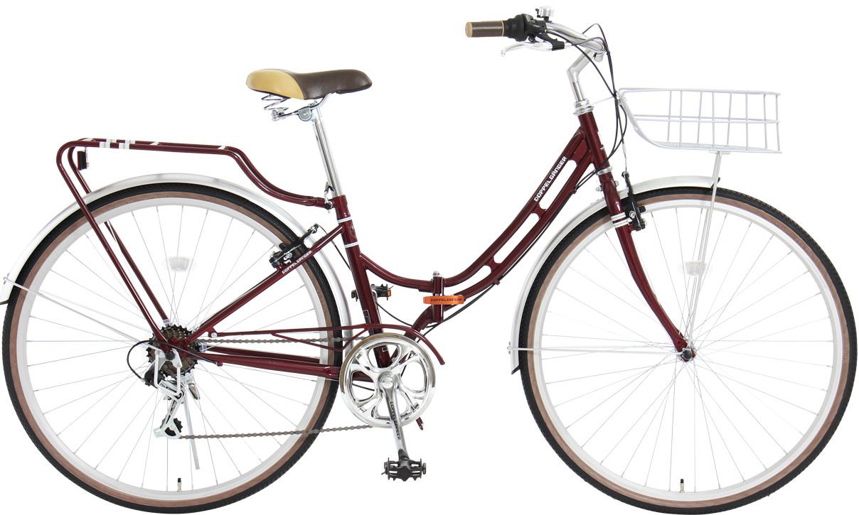 จักรยานซิตี้ไบค์ DOPPELGANGER 600 Epinal วงล้อ 27 นิ้ว 7 สปีดชิมาโน่ สีแดง Sale !!!!