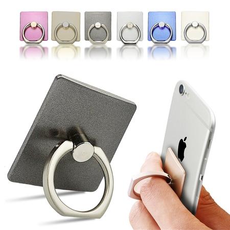 Ring ขาตั้งโทรศัพท์ พร้อมตัวแขวนสำหรับติดตั้งในรถยนต์ - Mobile phone ring stent