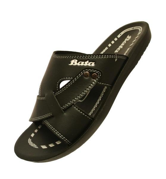 รองเท้าบาจา หน้าสานสีดำ