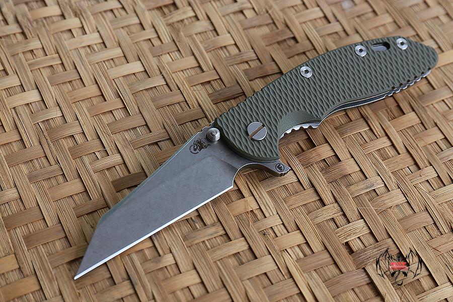 """RHK 3.5""""Wharncliffe Fatty OD Green G-10"""