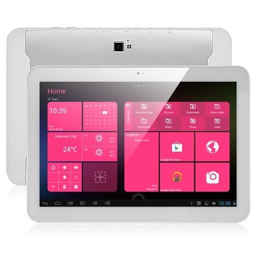 PIPO M9 3G Quad Core RK3188 ซีพียู 1.8 GHz แท็บเล็ตจีน ใส่ซิมได้ สีขาว