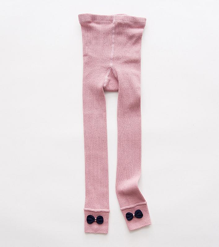 ถุงเท้าน้อง สีชมพู แพ็ค 6 คู่ ไซส์ ประมาณ 125 ซม