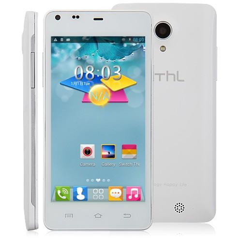 THL T5s สีขาว สมาร์ตโฟน 3G MTK6582 Quad Core Android 4.2