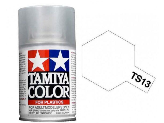TAMIYA TS-13 CLEAR (GLOSS) เงา