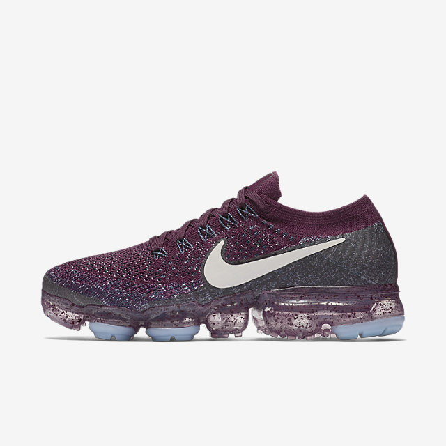 Nike Air VaporMax Color Bordeaux/College Navy/Night Purple/Desert Sand
