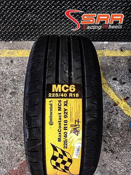 CONTINENTAL MAXCONTACT MC6 225/40R18