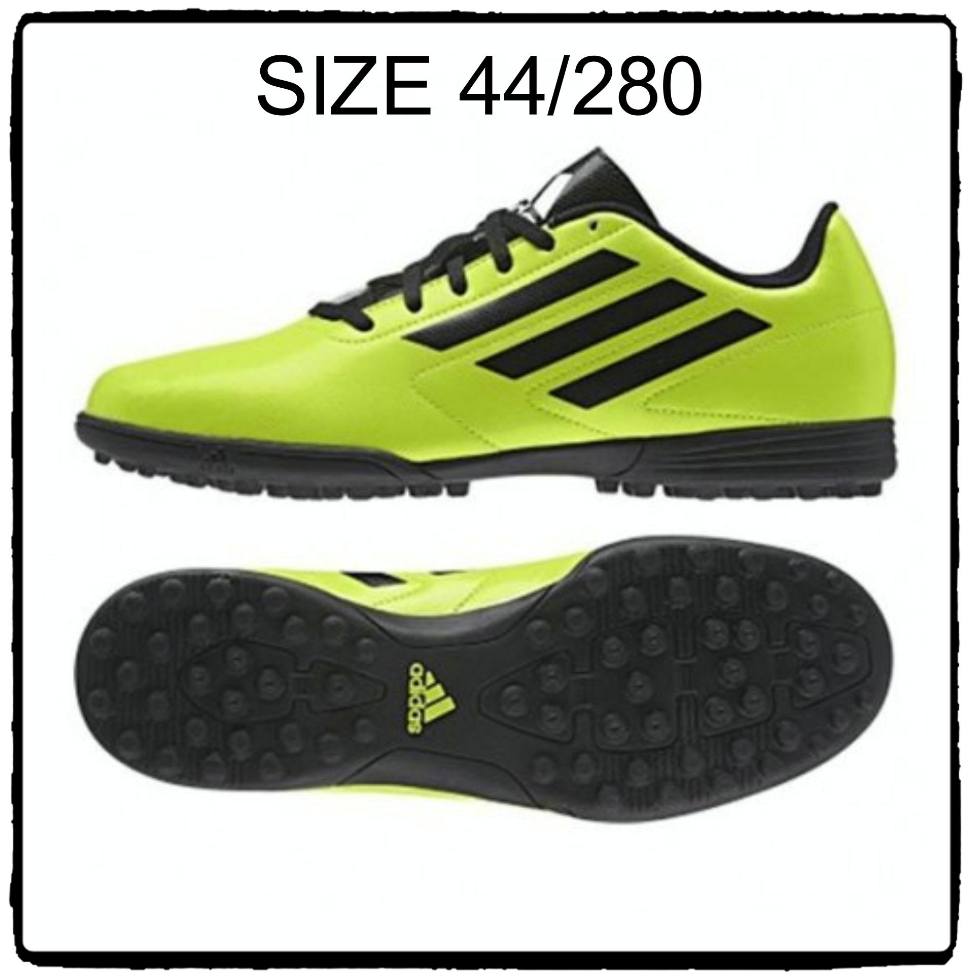 รองเท้าฟุตบอล /ร้อยปุ่ม Adidas Conquisto II TF สี เขียว