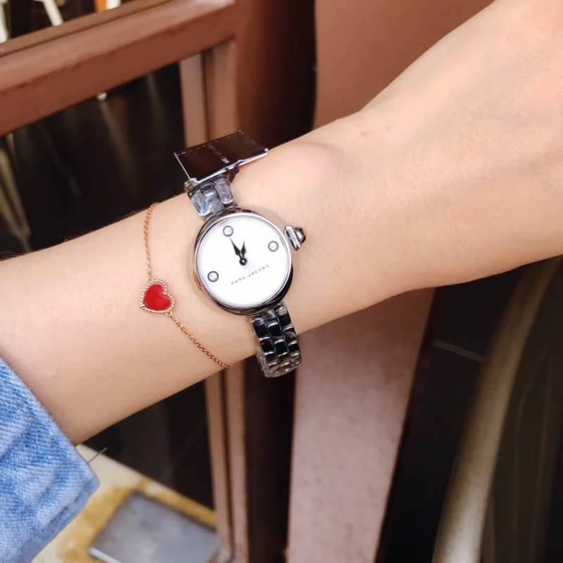 นาฬิกา Marc By Marc Jacobs Courtney Mother Of Pearl Dial Ladies Watch MJ3459 แบรนด์แท้