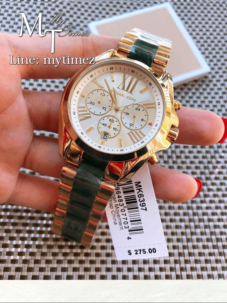นาฬิกาข้อมือ MICHAEL KORS รุ่น Bradshaw Chronograph Ladies Watch - MK6397