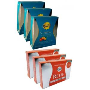 อาหารเสริมลดน้ำหนัก (ยาลดความอ้วน) รีซิส ดีท็อกแบบชง 6 กล่อง