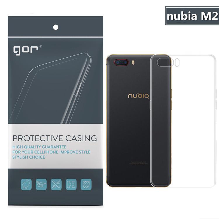 Nubia M2 เคสนิ่มTPU ชนิดใส soft ยี่ห้อ GOR