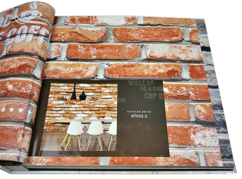 wallpaper ลายอิฐ