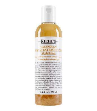 (ลด 27%): Kiehl's Calendula Herbal Extract Alcohol-Free Toner (Normal to Oily Skin Type) 250ml