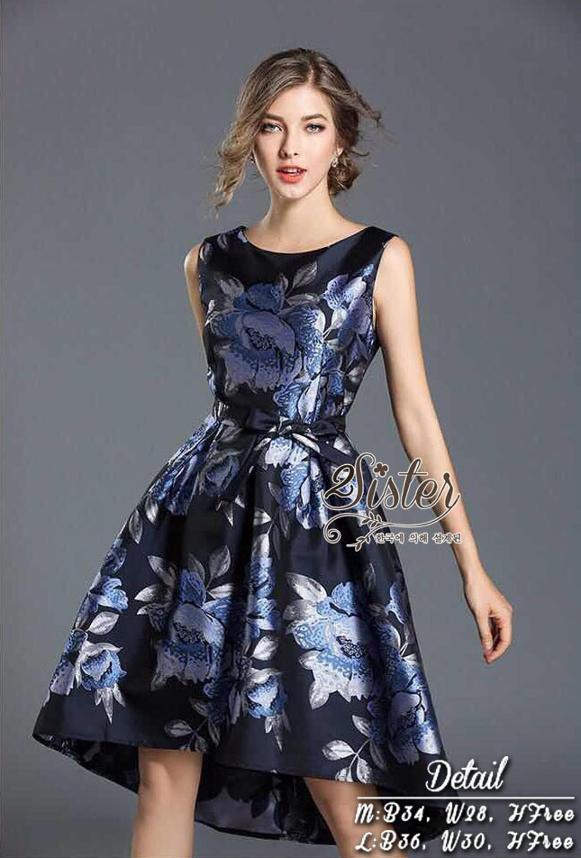 3ba5bf47591f 2Sister Made, Sweety Lovely Korea Elegant Dress - PeeyaShop ...