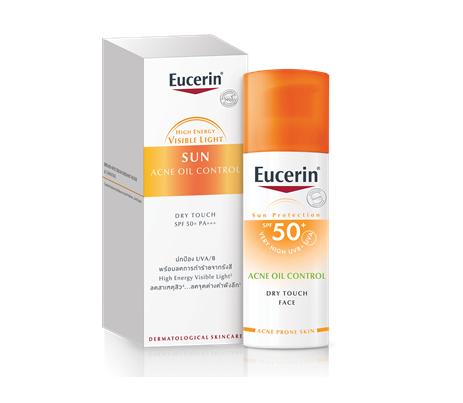 Eucerin SUN Dry Touch Oil Control Face SPF50+ 50ml.
