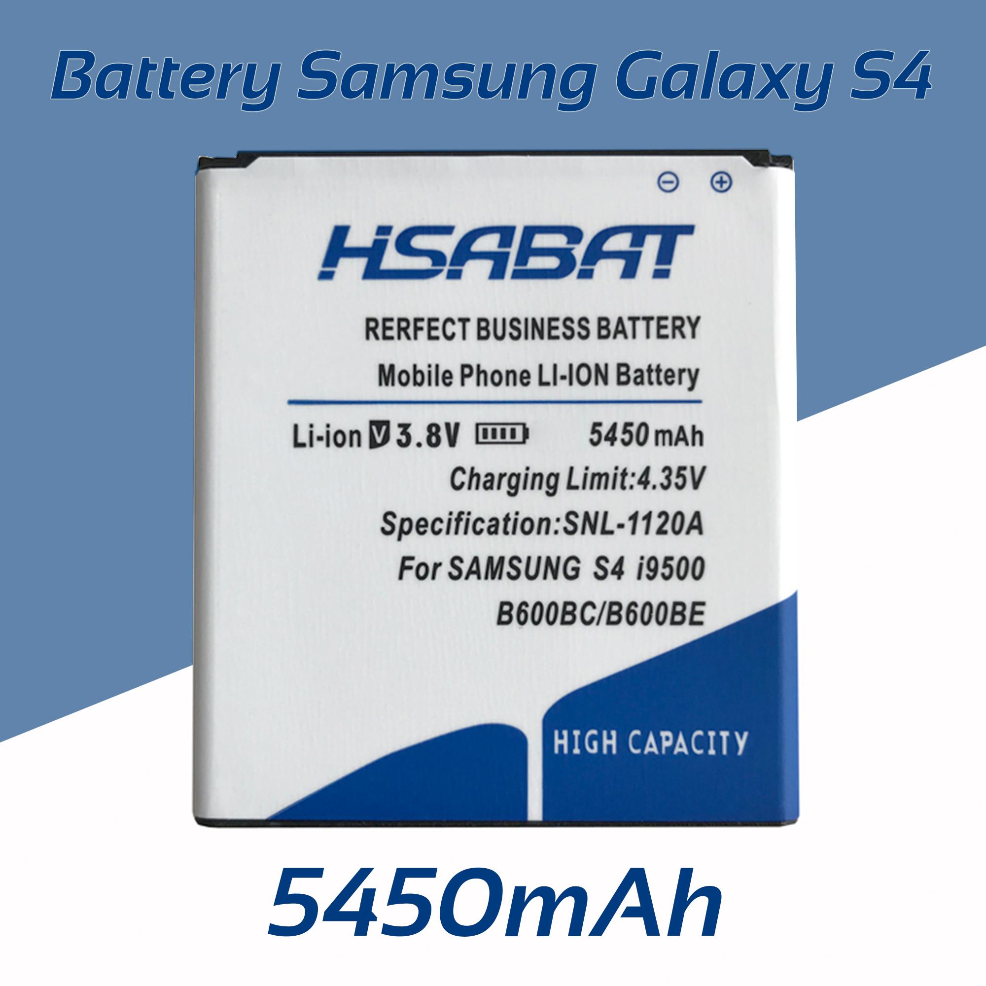 5450mAh B600BE Battery for Samsung galaxy S4 i9500 i9505 i9502 i9508 i959 R970 g7106 i9158 i9506 S4 Active I9295