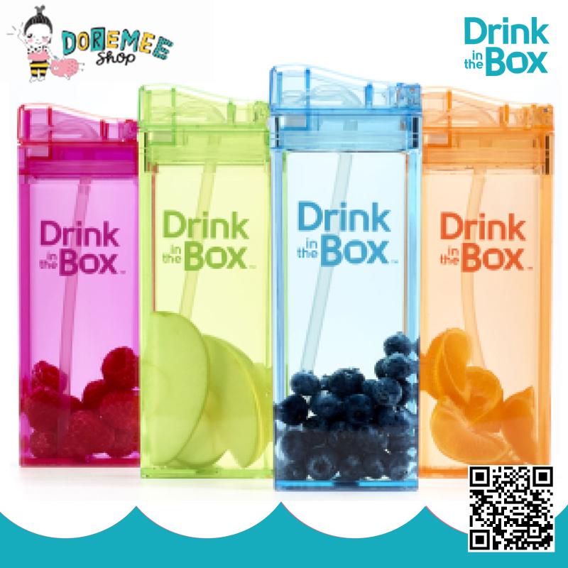 Drink in the Box กระบอกน้ำหัดดื่มสูญญากาศ 12Oz