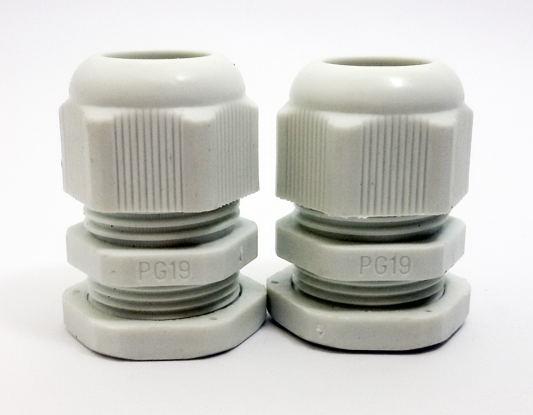 LOBO ELECTRIC CABLE GLAND PG19 12 -15 mm. สีขาว